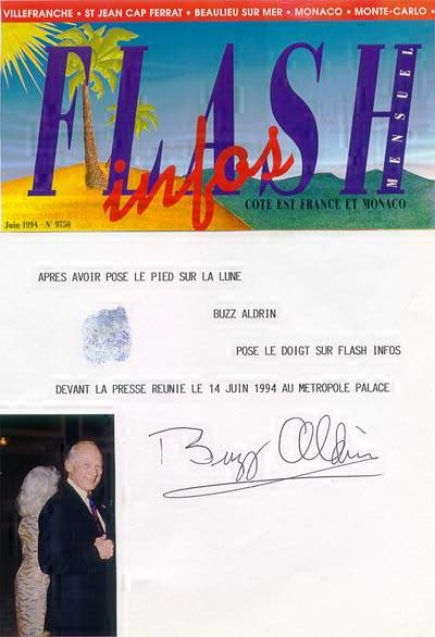 ALDRIN Buzz - Monaco